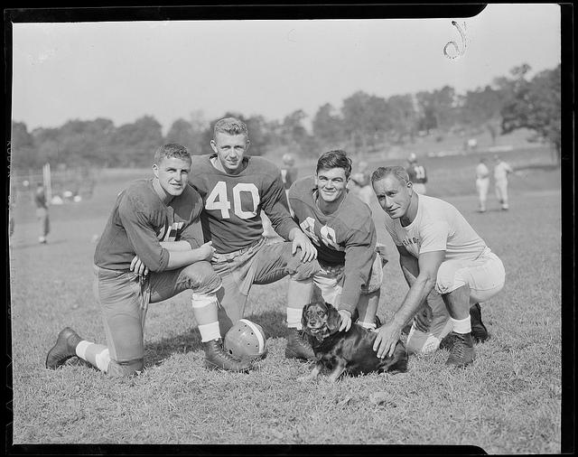 1934 - 1956: Football