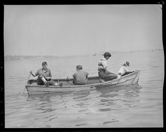 1934 - 1956: Yachting