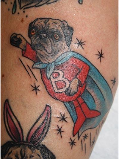 black-pug-tattoos