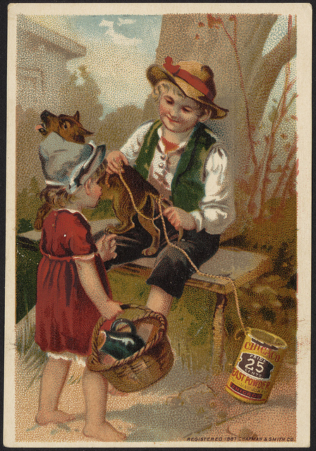 1887: Chicago Yeast Powder - price 25 cents