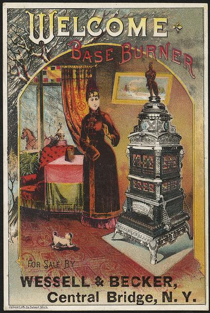 1870-1900: Welcome Base Burner