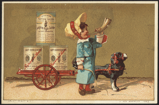 1870 - 1900: Anglo-Swiss condensed milk - Anglo-Swiss milk food