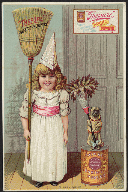 """1870 - 1900: """"Thepure"""" sweeps the country, """"Thepure"""" baking powder"""