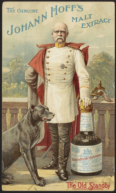 1870 - 1900: The genuine Johann Hoff's malt extract - the old standby