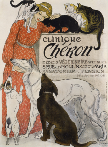 Clinique Cheron - 1909 (Via: Modern Dog)