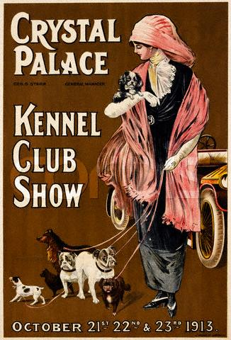Crystal Palace Kennel Club Show - 1913