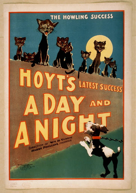 The Howling Success, Hoyt's A Day and A Night - 1859-1900