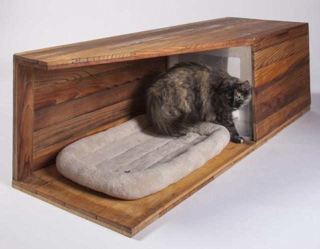 Abramson Teiger Architects' shelter is rather plush and upmarket (Photo: Grey Crawford)