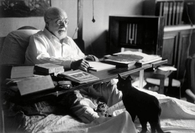 Henri Matisse/ © Robert Capa / © International Center of Photography / Magnum Photos