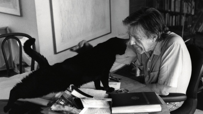 John Cage/ Courtesy of the John Cage Trust
