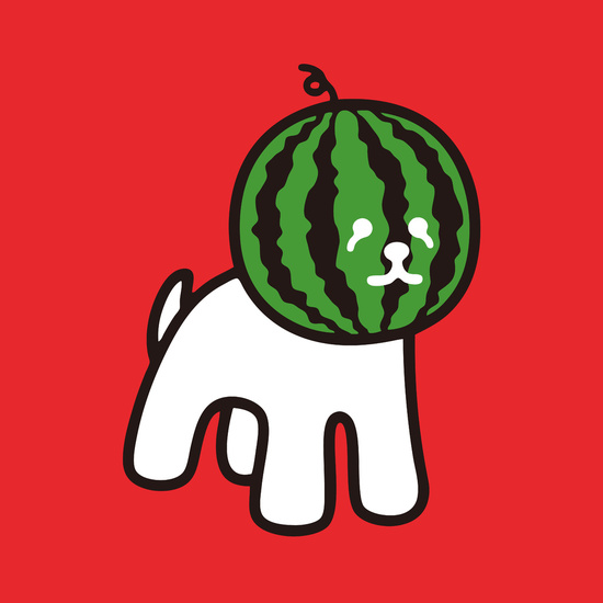 Watermelon Dog